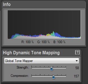 Global tone mapping