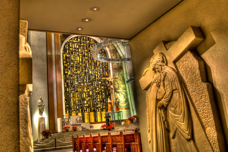 Rear of the Altar- Basilica Saint Joseph's Oratory