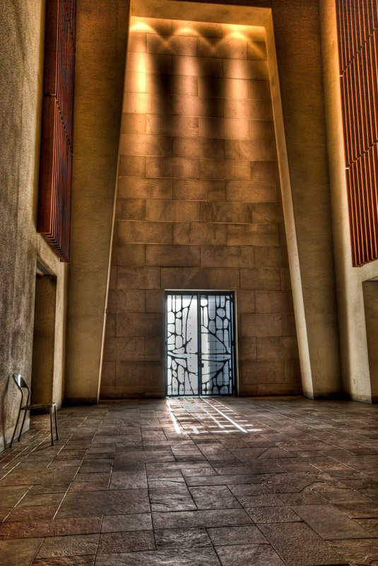 Side entrance at rear of the Altar - Basilica of Saint Joseph's Oratory