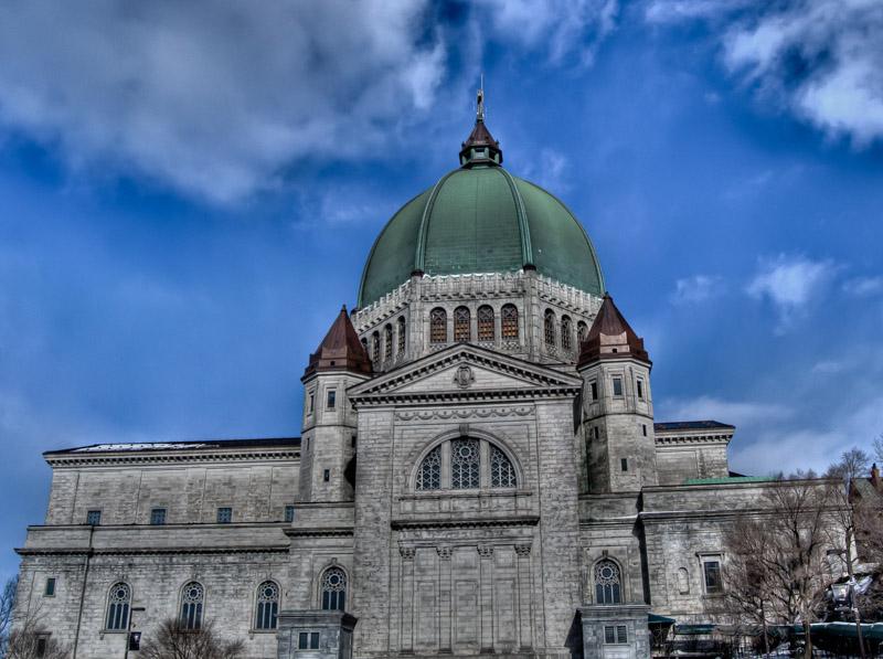 Saint Joseph's Oratory of Mont Royal - side view