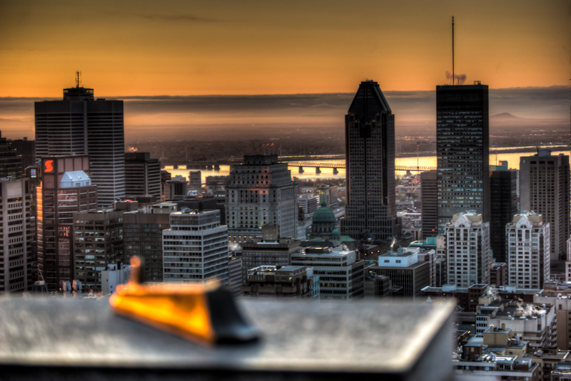 Sunrise over Montreal