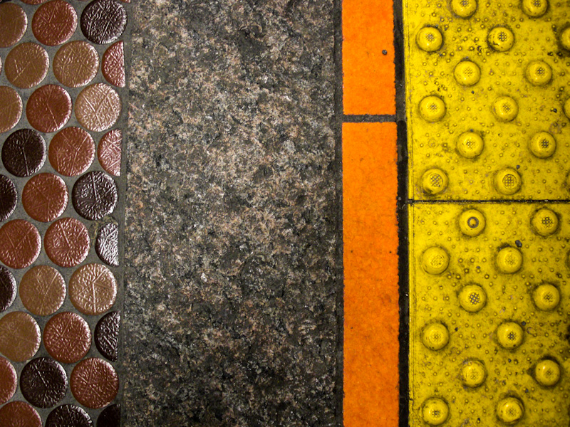 Metro floor abstract