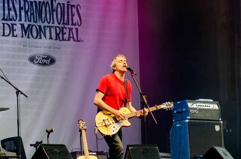 Daran at the 2012 FrancoFolies