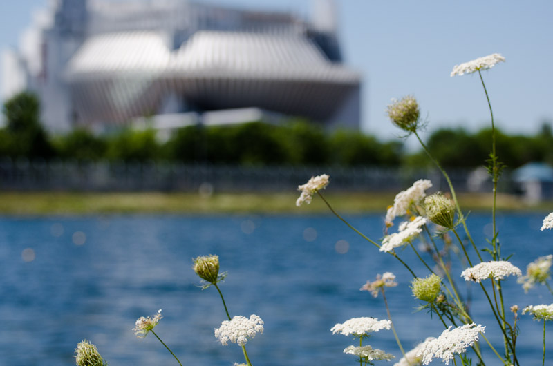 The Montreal Casino from across the Olympic Basin