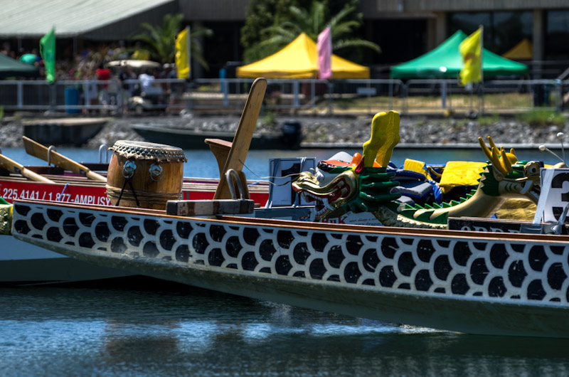 Dragon Boats at the 2012 Montreal Dragon Boat Racing Festival
