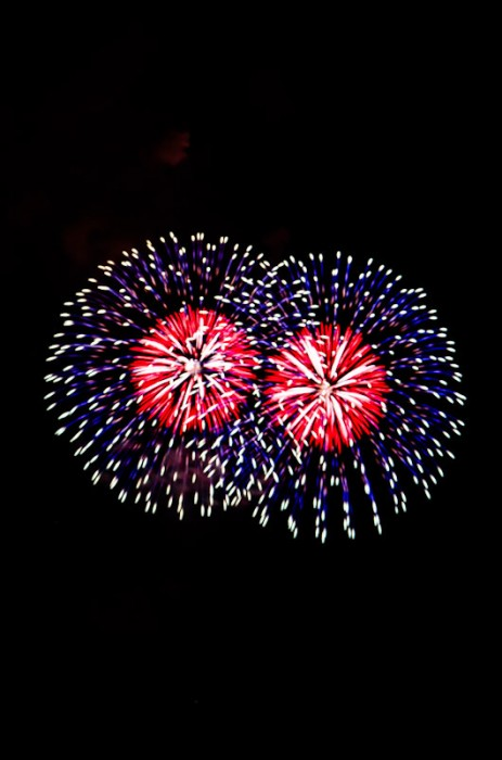 Image showing only the firework