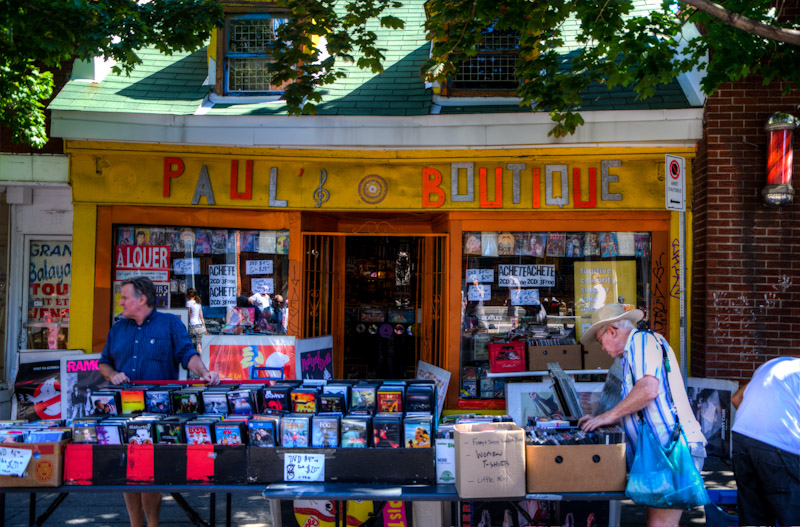 Paul's Boutique on ave du Mont Royal