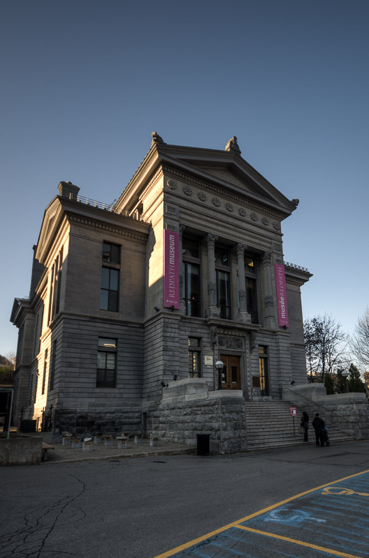 The Redpath Museum at McGill
