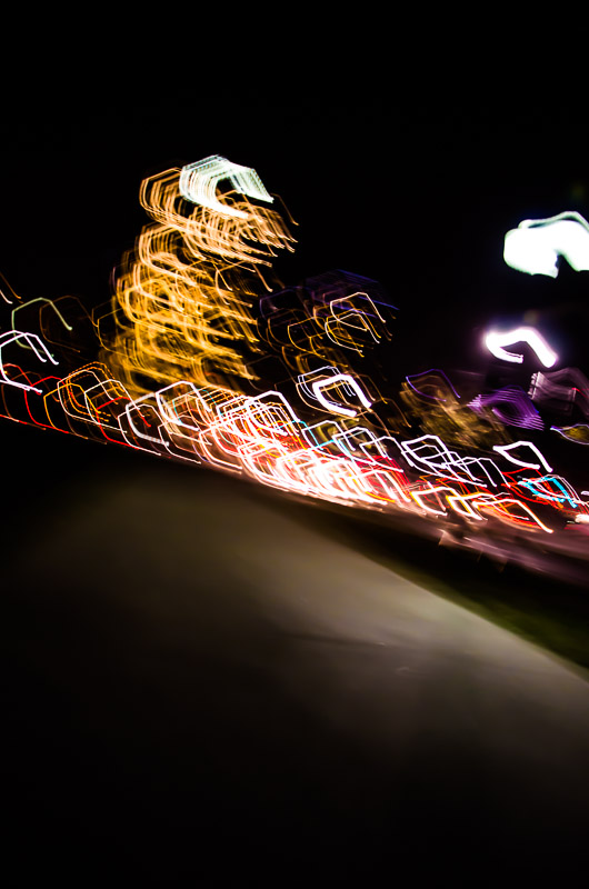 Light painting experiment