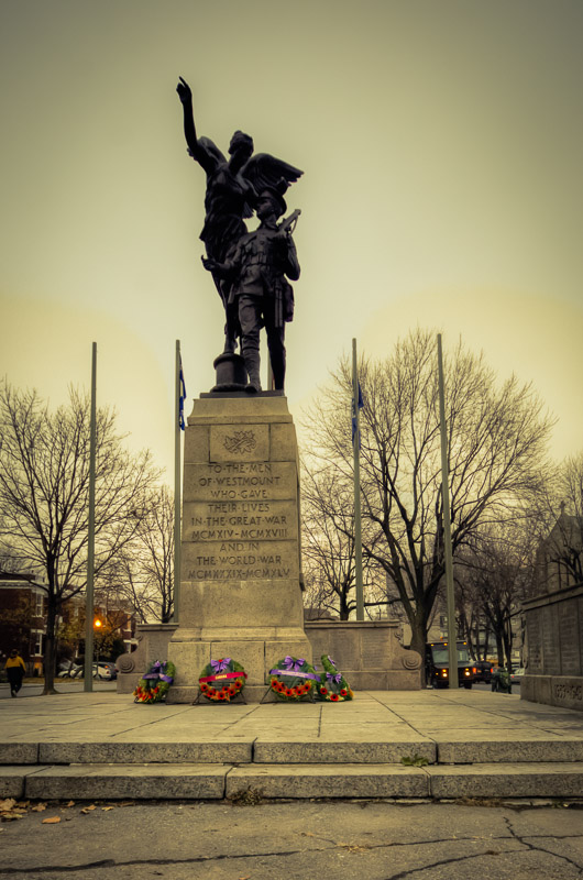 Westmount Cenotaph by George Hill