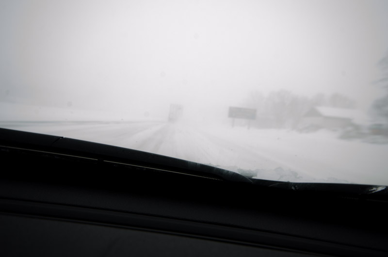 A white highway 40