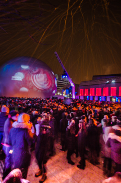 Nuit Blanche at Quartier des Spectacles