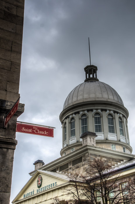 Dome of Marché Bonsecours