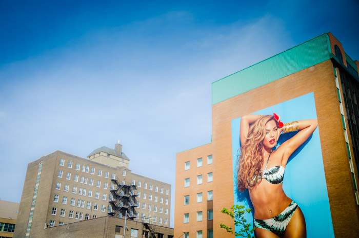 Larger than life Beyoncé