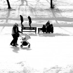 Ice Skating at Parc La Fontaine