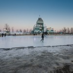 Ice Skating at Basin Bonsecours