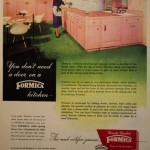 1950′s Formica Kitchen ad