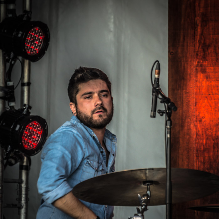 Drummer with Patrice Michaud