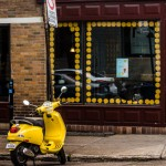 Cora Yellow Painted Scooter