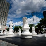 Giant Chess at Place Émile-Gamelin