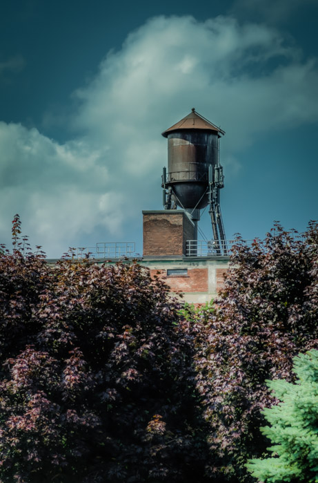 St. Lawrence Warehouse water tower