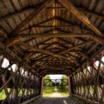 Taschereau covered bridge