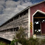 Des Pionniers covered bridge
