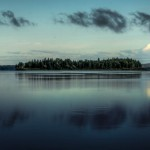 Early morning on Abitibi Lake