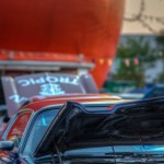Vintage cars at the Orange Julep