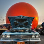 Old Chevelle in front of the OJ