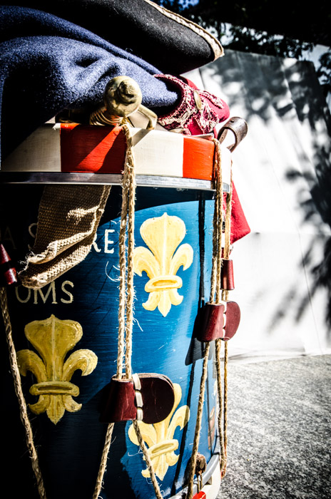 La Sarre Regiment drum