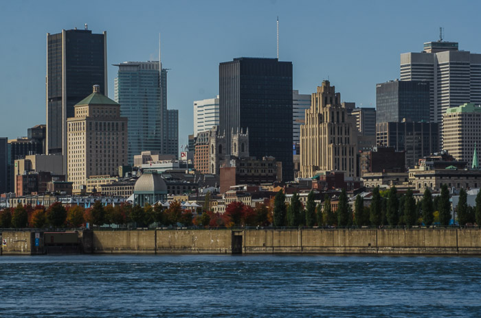 Montreal skyline from île Sainte-Hélène