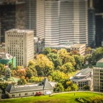 McGill University campus in Downtown Montreal