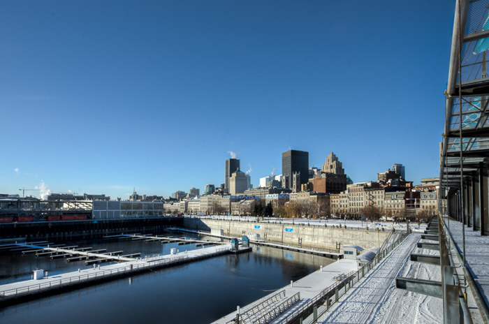 View from Jacques-Cartier Quay