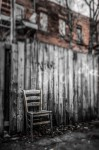Chair in an alley