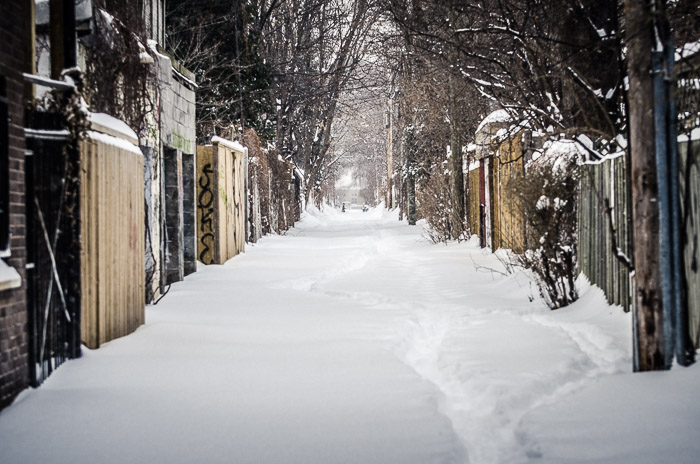 Alley on Le Plateau