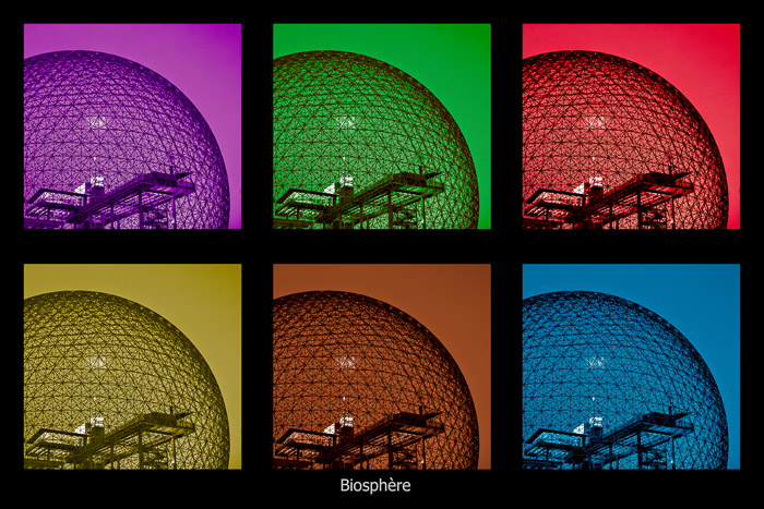 Biosphère pop art experiment