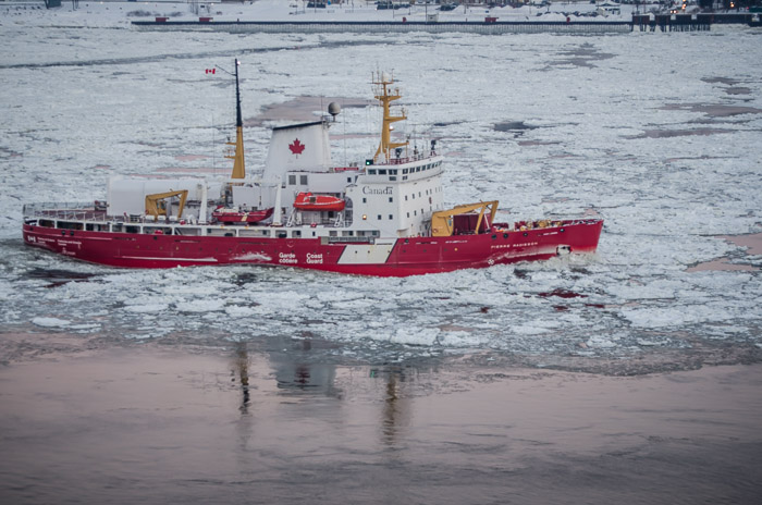 The Ice Breaker Pierre Radisson