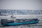 The Maersk Penang container ship