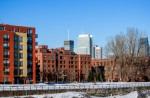 View of downtown from Lachine Canal