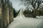 Tipi in the First Nations Garden
