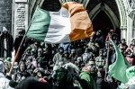 Saint Patrick's Parade passes Christ Church Cathedral