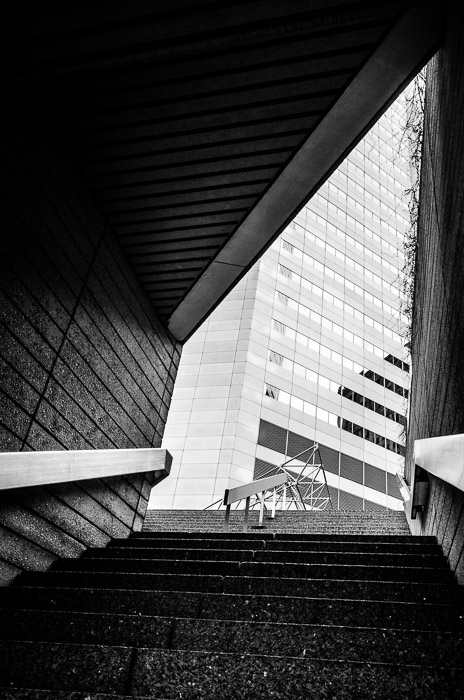 Staircase at Complexe Maisonneuve