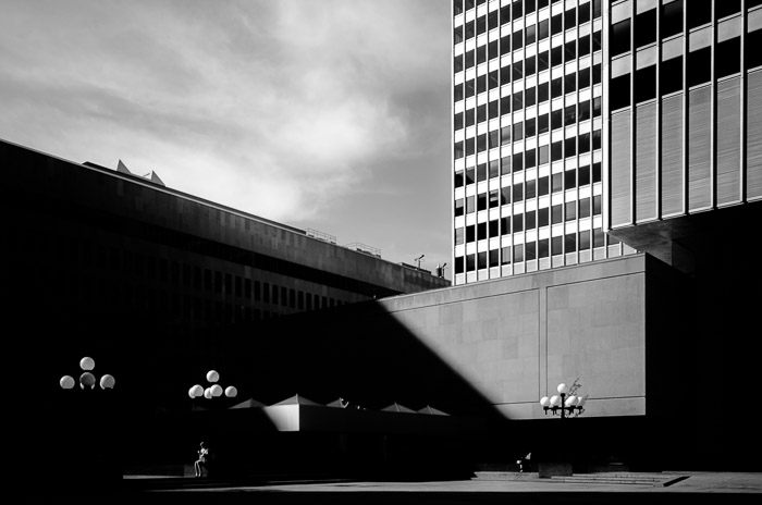 Light and shadows at Place Ville-Marie