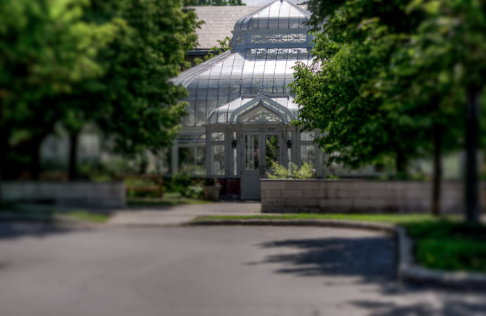 Westmount Greenhouse entrance
