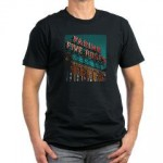 Farine Five Roses Neon Sign TShirt
