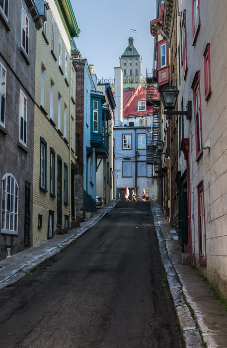 Rue Christie in Old Quebec