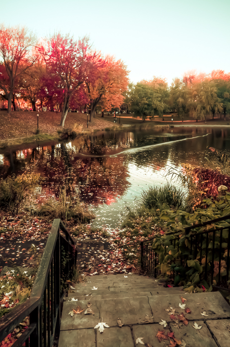 10 Montreal Autumn photo locations - #3 Parc Lafontaine