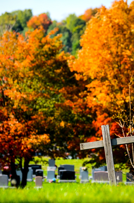 10 Montreal Autumn photo locations - #2 Notre Dame des Neiges Cemetery