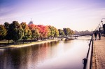 Autumn colours at the Bassin Bonsecours